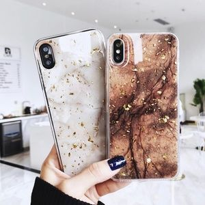 Accessories - NEW iPhone XS Max Brown and Gold Foil Case